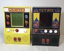 PAC-MAN & Tetris Bandi Namco Mini Arcade Games Super Fun And Retro