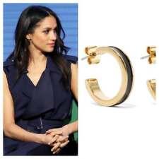 ISABEL MARANT Enameled gold-tone hoop earrings, NWT, ASO royal celebrity