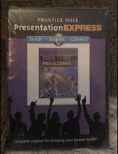 Prentice Hall Math Pre-Algebra Presentation Express  CD-ROM - NEW & SEALED!