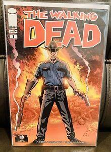 Walking Dead #1 CGC 9.8, Rick Fighting Walkers, 2013 Ohio WW - Robert Kirkman