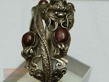 La Chine Bracelet dragon argent vintage chinese silver enamel Bracelet Dragon