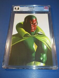 Avengers #43 Alex Ross Virgin Vision Variant CGC 9.8 NM/M Gem In Hand Wow