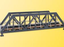 Kibri 39701 Ponte metallico dritto a Traliccio per plastico ferroviario H0 1 87