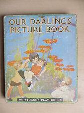 1920s board book -Our Darling's Picture Book (Mrs Strang's Play Books)