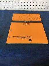 John Deere 480C Forklift Operator Manual