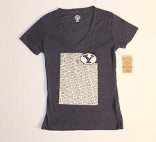 BYU Cougars V-neck T-shirt Women's Size M Color Dark Blue