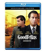 GOODFELLAS - 25TH ANNIVERSARY EDITION BLU RAY 4K REMASTERED ROBERT DE NIRO