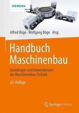 Handbuch Maschinenbau (2014, Gebundene Ausgabe)