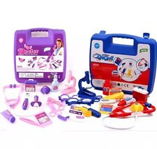 Childrens  Medical case Kit Set Doctor Nurse Dress Up Role Play Fun Toy Gift