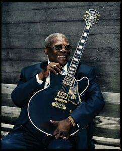 B.B. King UNSIGNED photograph - M2474 - American blues singer - NEW IMAGE!!!