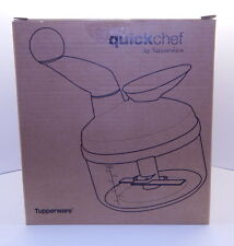 Tuperware Quickchef New in Open Box Red R12809
