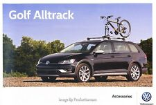 2017 VW Volkswagen Golf Alltrack Original Factory Accessories Brochure Catalog
