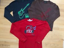 Lot of 3 MiniBoden l/s shirts, size 13-14