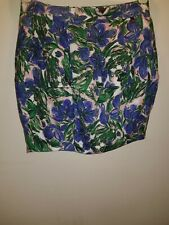 FLORAL TULIP SKIRT 8 RIVER ISLAND SUMMER TOWIE CELEB PARTY EVENING NEW £29.99