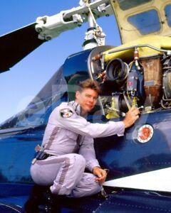 Airwolf (TV) Jan Michael Vincent 10x8 Photo
