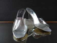 Vintage Lucite Wedge Heels & Top, Size 8M, Ted Land for Onex. Fabulous!