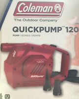 Air pump Coleman QuickPump Electric 120V - Red