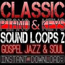 PIANO,KEYS,RHODES,SOUNDS WAV LOOP SAMPLES 2 Gospel Hip Hop Akai Reason Fl Studio