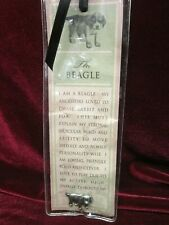 New, Russ Berrie & Co Purebred Puppies Beagle Dog Pin & Bookmark, New