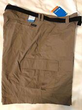 Men's Size 42 W / 9 L Columbia Battle Ridge II Shorts - NWT Beige Ran Omni Shade
