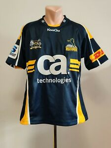 Shirt Kooga Rugby Union Clubs Jersey Brumbies Home 2011-2013 Football Mens M