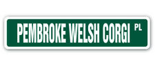 Pembroke Welsh Corgi Street [3 Pack] of Vinyl Decal Stickers