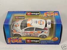 [PG3-12] BBURAGO BURAGO 1/43 STREET FIRE #4174 FORD FOCUS RALLY GULF N.1 NEW