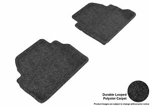 For 2014-2020 Bmw 4 Series R2 Classic Carpet Black All Weather Floor Mat