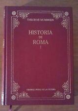 Historia de Roma, tomo I. Theodor Mommsen. Libro