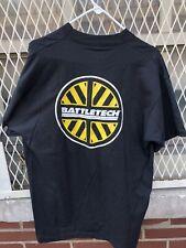 Vintage Battletech Center T Shirt FASA Chicago 1992 Screen Stars Size XL