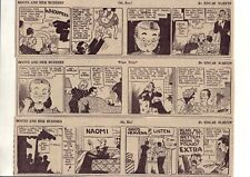 Boots and Her Buddies by Martin - 26 large daily comic strips Complete Sept 1939