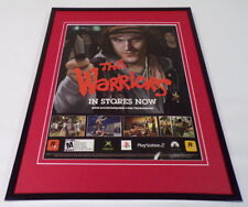 The Warriors 2005 XBox PS2 Framed 11x14 ORIGINAL Advertisement