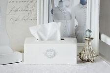 Clayre & Eef Kleenex Kosmetiktücher Box Tissuebox Bain Keramik Shabby Landhaus