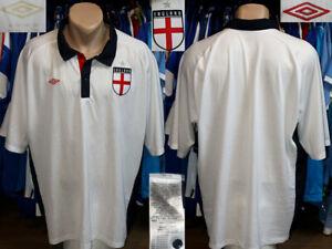 Retro Replica Style England Umbro Similar As 1997/1999 Home Shirt Jersey Trikot