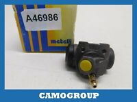 Cylinder Rear Brake Rear Wheel Brake Cylinder Metelli RENAULT Super 5