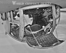 USAAF WW2 B-17 Bomber Ball Turret 8x10 Detailed Photo