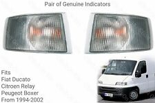 Genuine Hymer B584 Front Blinker Direction Indicator light/lamps 1996 to 2002