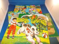 Lot of 4 Vintage 1962 SIFO Children's Puzzles