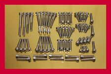 YAMAHA DRAG STAR XVS 650 xvs650 STAINLESS STEEL Bolt-KIT PEZZI ENGINE COVER