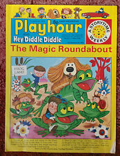 PLAYHOUR AND HEY DIDDLE DIDDLE COMIC. 7 SEPTEMBER 1974. FN+ .