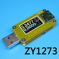2019 New version Colour TFT Dual USB Power Monitor YZXstudio ZY1273 QC 3.0