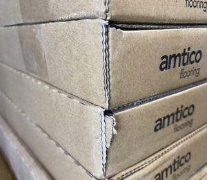 1 M2 Amtico Spacia Flooring Ceramic Frost 18 X 18 Tiles (27.5 m2 available)