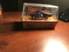 Auto World '68 Chevy El Camino, Blue w/ Red Flames, ThunderJet Slot Car, Rel. 7