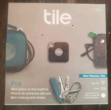Tile Pro RT-15002 2-Pack Item Tracker Black - NEW SHIPS QUICK