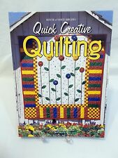 QUICK CREATIVE QUILTING, 1999 HOUSE OF WH.BIRCHES- FREE SHIPPING