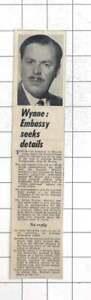 1963 British Businessman Greville Wynne Arrested On On Charge Of Espionage, USSR