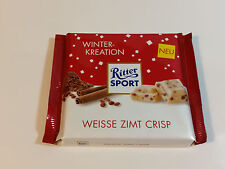 Ritter Sport - WINTER KREATION - WEISSE ZIMT CRISP 3.5oz 100g  MADE IN GERMANY