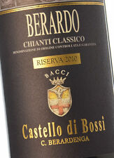 6 bt. CHIANTI CLASSICO DOCG 2011 riserva BERARDO CASTELLO DI BOSSI