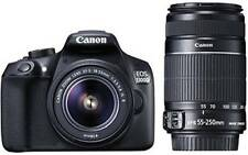 Canon EOS 1300D DSLR Camera (Body with EF-S 18 - 55 mm IS II + EF-S 55 - 250 mm