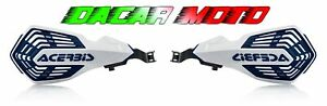 Pair Hand Guards White/Blue ACERBIS Husqvarna Te 250I 2018 2019 2020 2021